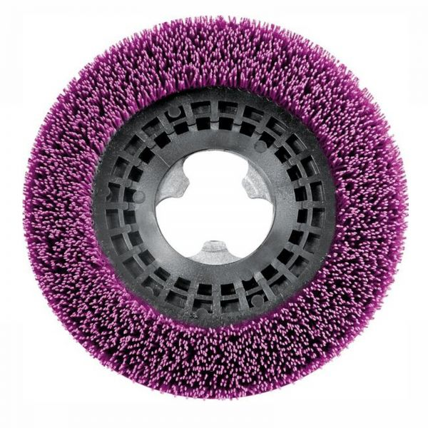 Dr. Schutz Gritbürste violett 410 mm Aufnahme nach Wahl-Copy