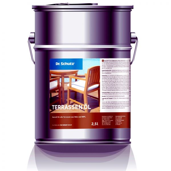 Dr. Schutz Terrassenöl 2,5 Liter