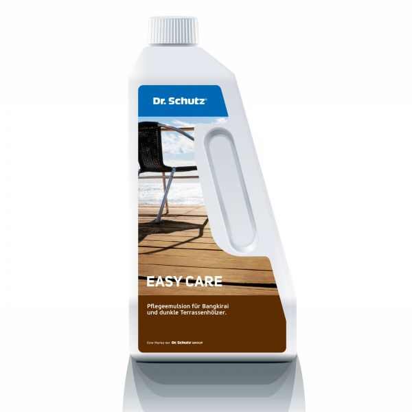 easy care für Bangkirai + dunkle Terrassenhölzer