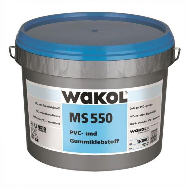 Wakol MS 550 PVC- und Gummiklebstoff 7,5 KG