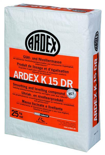 ARDEX K 15 DR GLÄTT- UND NIVELLIERMASSE, 25 KG