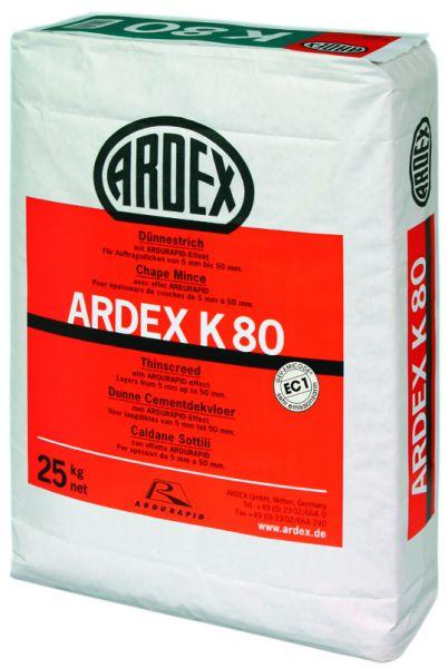 ARDEX K 80 DÜNNESTRICH, 25 KG