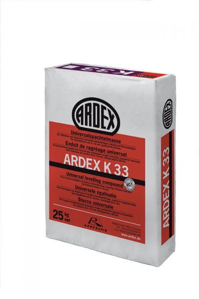 ARDEX K 33 UNIVERSALSPACHTELMASSE, 25 KG