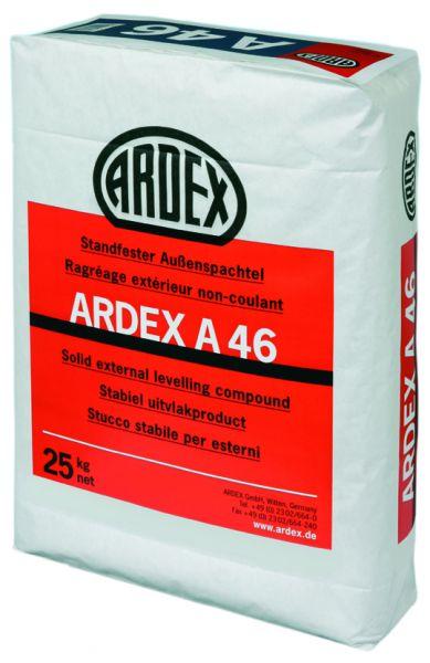 ARDEX A 46 STANDFESTER AUSSENSPACHTEL, 25 KG