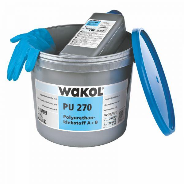 Wakol PU 270 Polyurethanklebstoff 6 KG + 1,05 KG